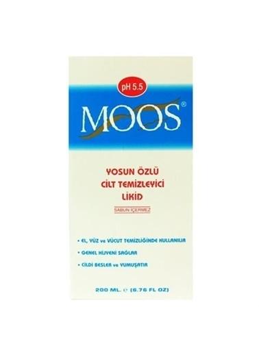 Moos MOOS Yosun Özlü Cilt Temizleyici Likid 200 ml - Yağlı Ciltler Renksiz